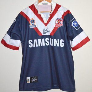 2004 SYDNEY ROOSTERS NRL RUGBY LEAGUE JERSEY S